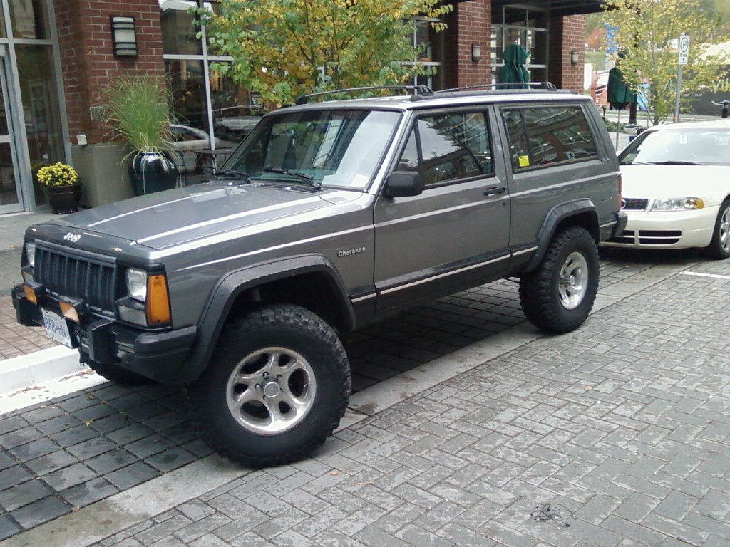 Charming ... 91 96 Jeep Cherokee Sport | By BC Sasquatch