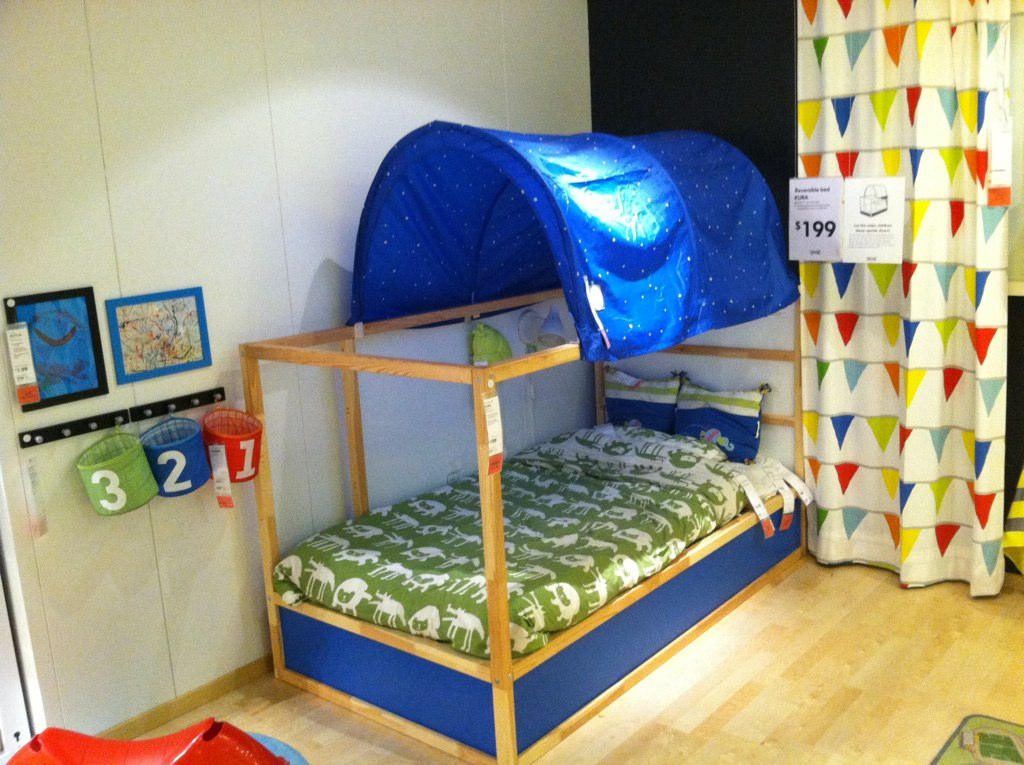 Ikea Kura Twin Bed Jacob And I Love This Reversible Bed