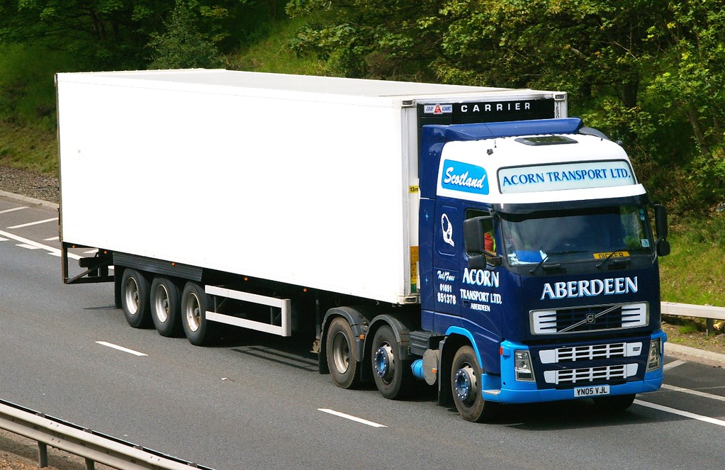 Volvo Acorn Transport Ltd Aberdeen Scotland Yn05 Vjl