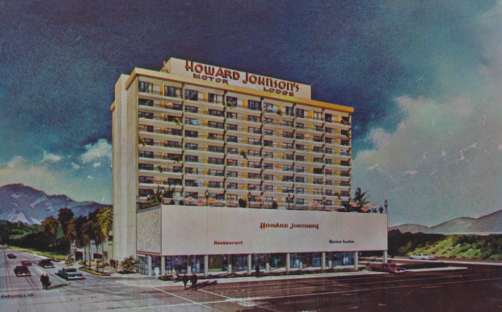 Howard Johnson's Motor Lodge - Los Angeles, California