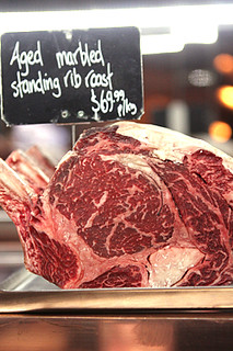 standing rib roast | by David Lebovitz