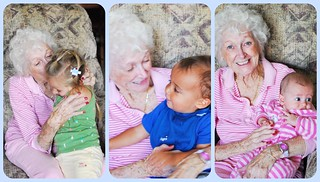 great grandma and kids | by mrs. bennettar