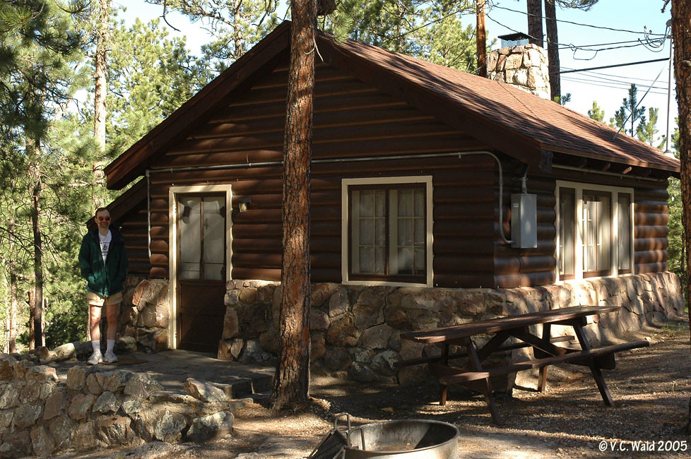 Sylvan lake lodge custer state park rustic cabin flickr for Cabins near custer sd