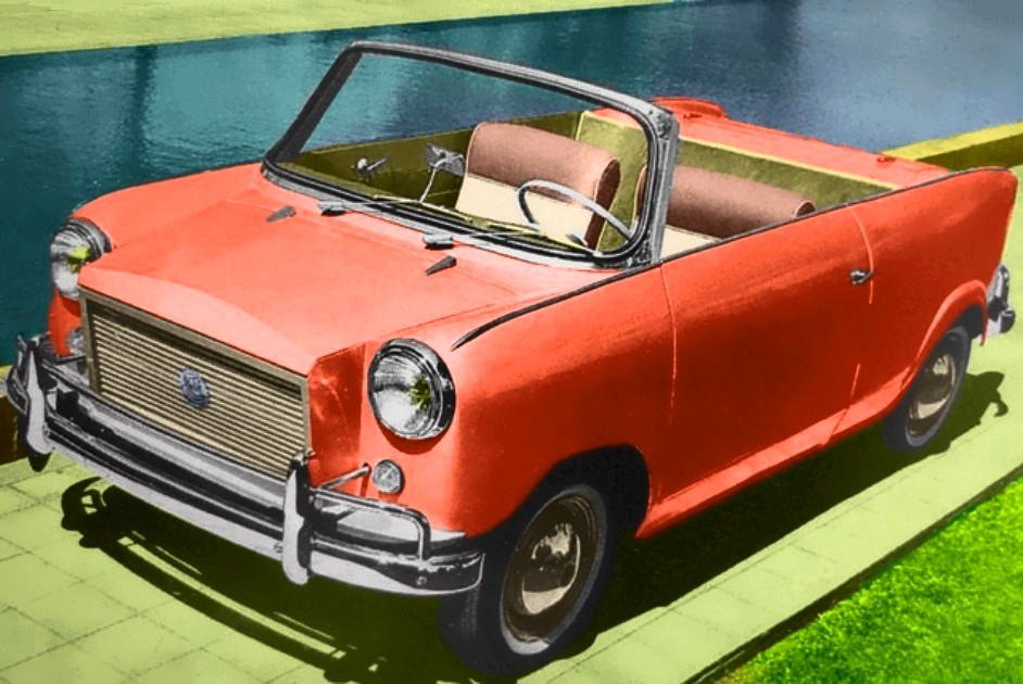 ramses gamila cabriolet 600cc 1965 egyptian car designed flickr. Black Bedroom Furniture Sets. Home Design Ideas