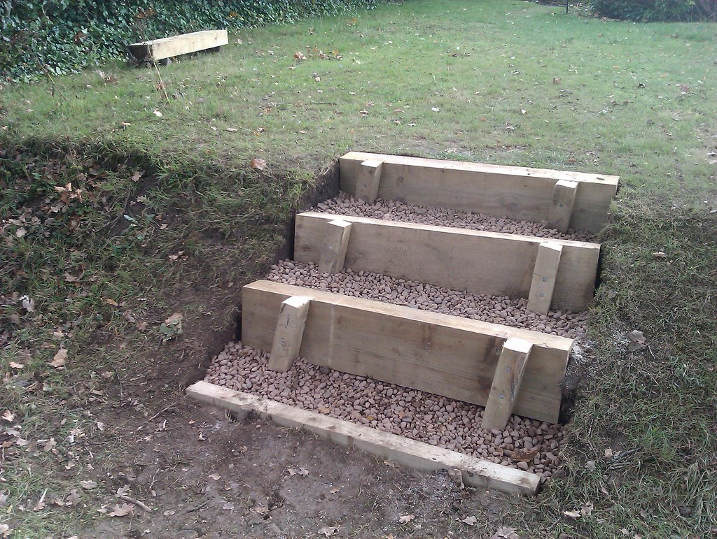 Garden Steps This Weekend S Diy Project Applying