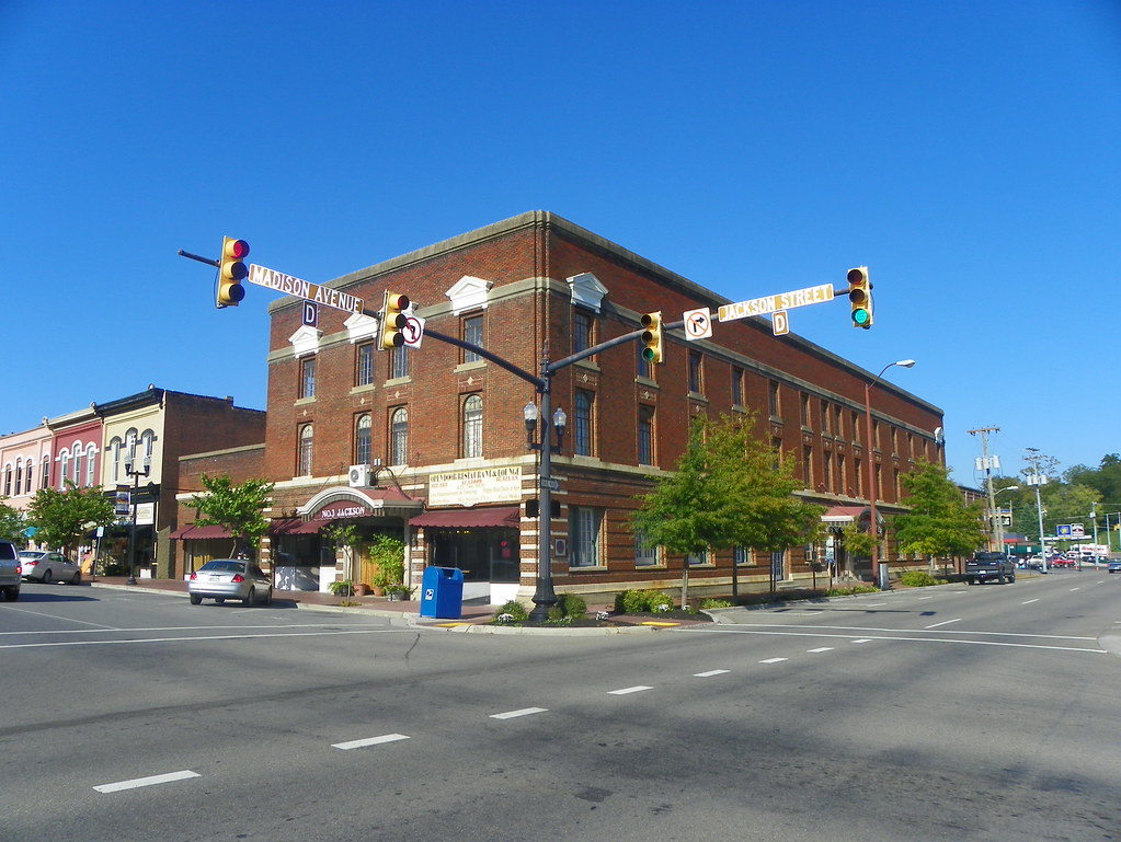 Old Robert E Lee Hotel Athens Mcminn County Tennessee