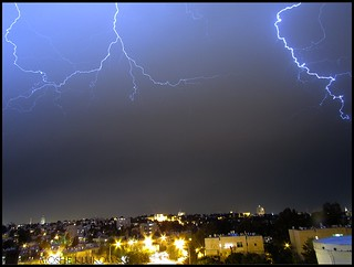 ברקים מעל ירושלים - lightnings above jerusalem | by moshek70