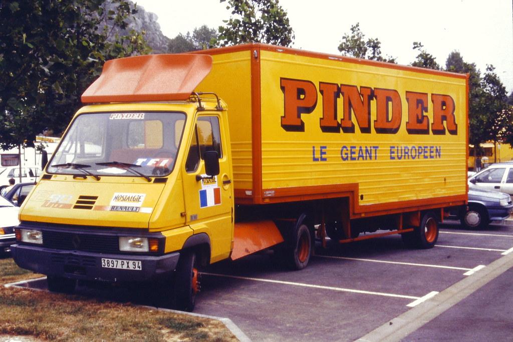 Renault Rvi B90 Turbo Tracteur Semi Cirque Pinder 1986 92