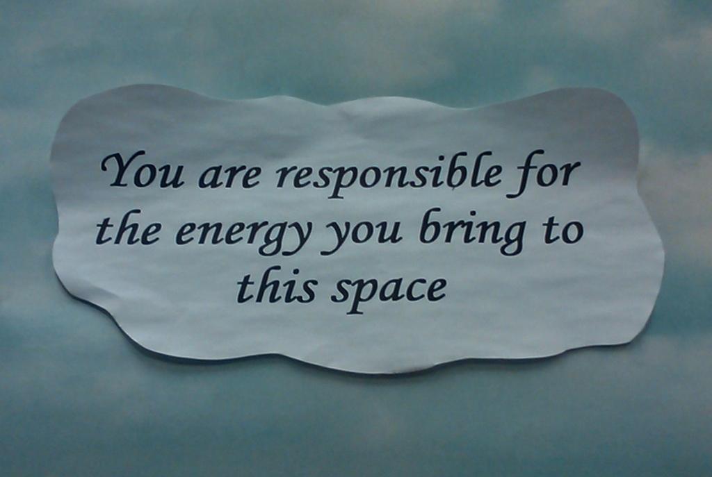 Enlightone: Day 307 - 03Nov2011 - Positive Energy