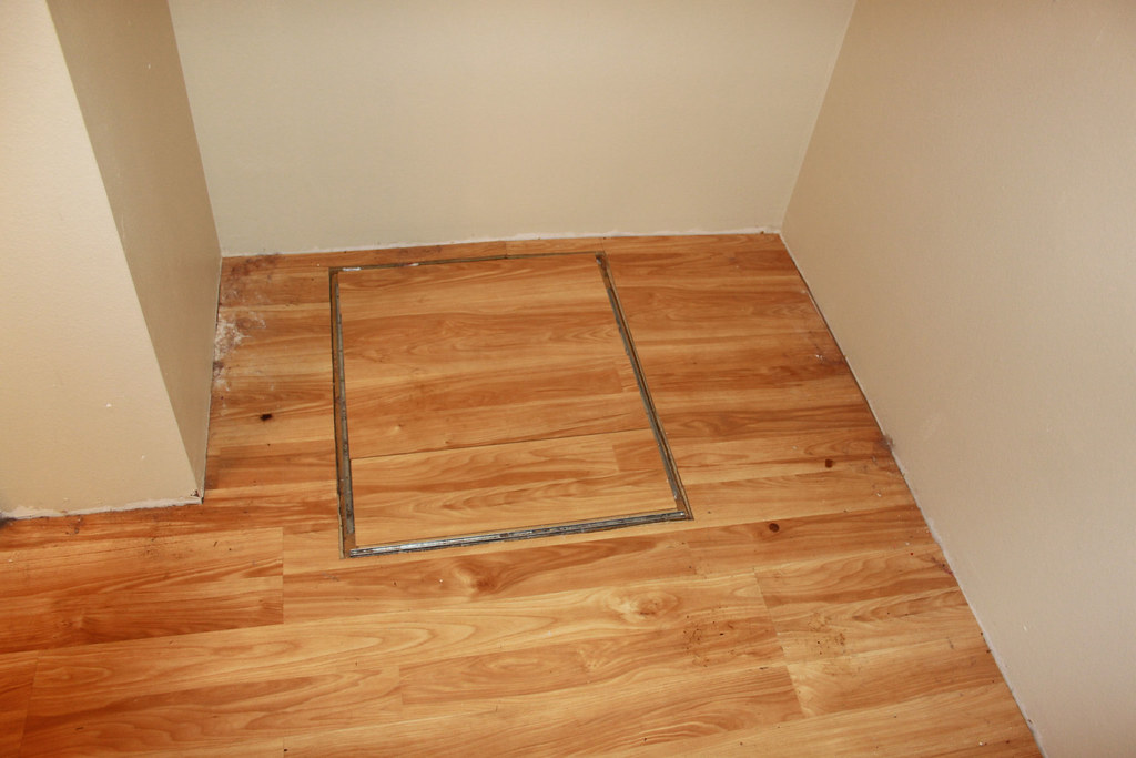 Crawl space access door master bedroom closet crawl Crawl space flooring