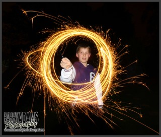 Light Painting with Sparklers. | by BarryAdams Images