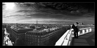 Overlooking Paris | by saxman777