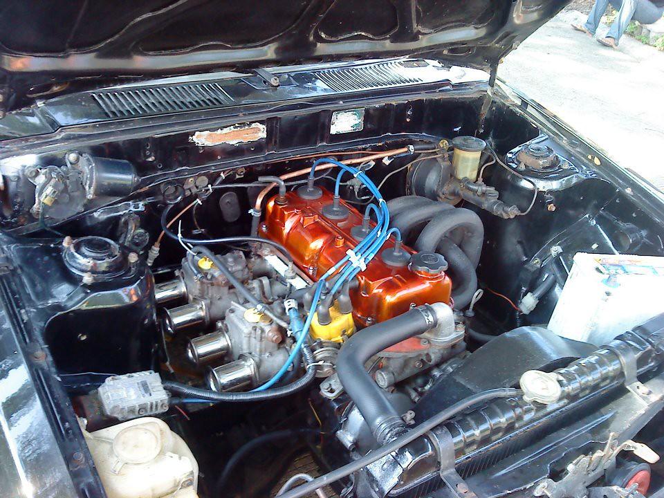 Toyota 2t C Twin Weber 45 Toyoya 2tc Twinside Weber 45