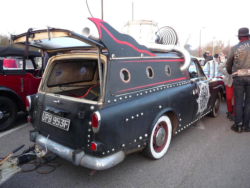 Volvo Amazon 220 Estate Wagon 1968 Custom Rhythm Riot