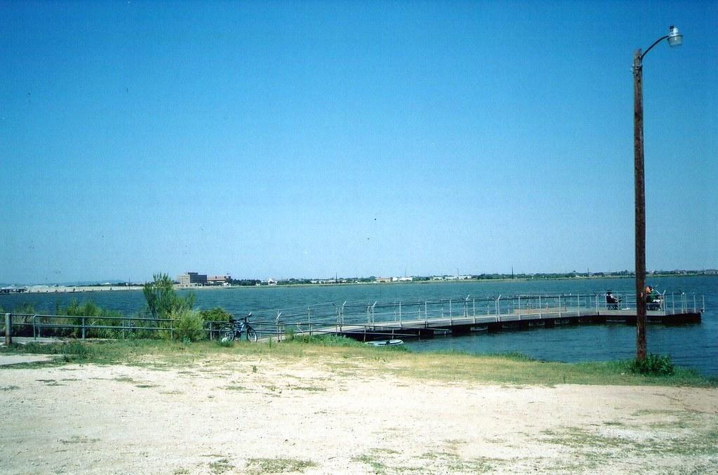Fishing Pier At Kirby Lake Park Abilene Tx Photo Taken