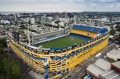La boca stadium ruggero arena flickr for Puerta 2 cancha de boca