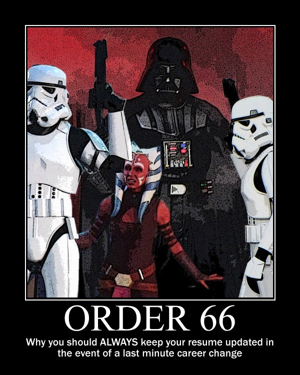 STAR WARS - ORDER 66 | The one tip off in the Jedi job inter ...