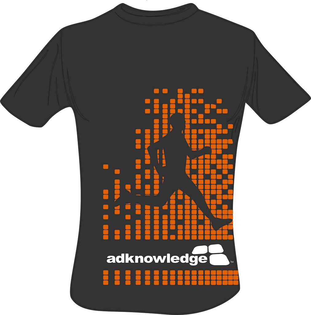 T Shirts Design Concept: Adknowledge Corporate Challenge T-shirt Design Concept-FRO