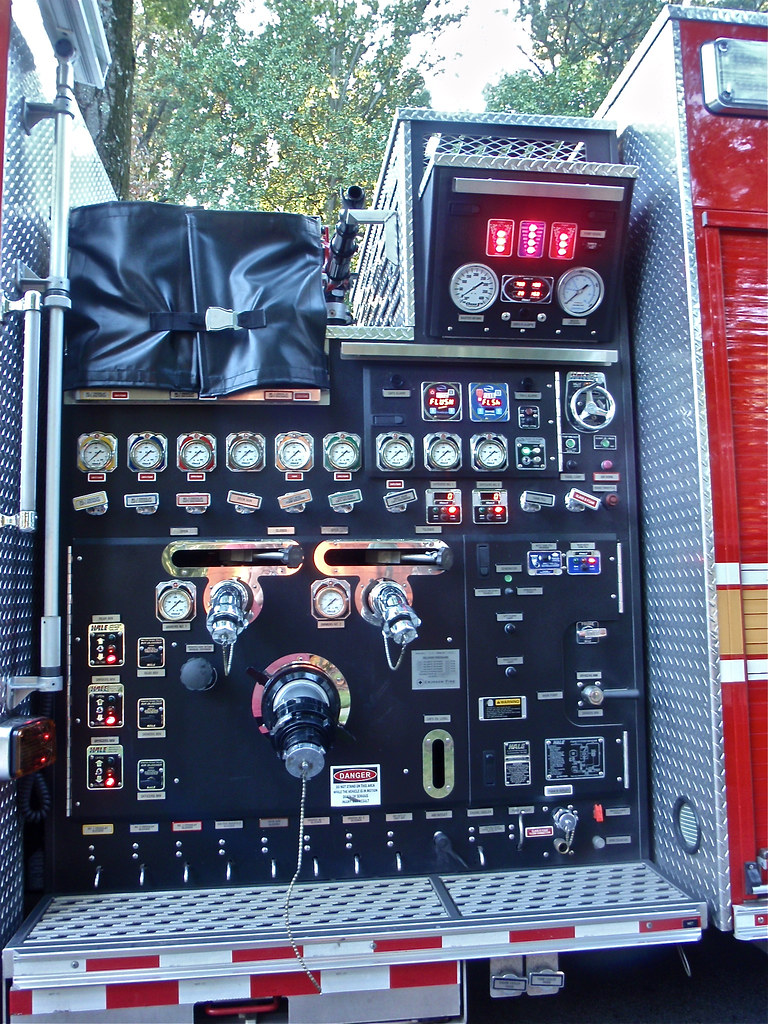 fire truck pump control panel guess what if you turn the flickr rh flickr com