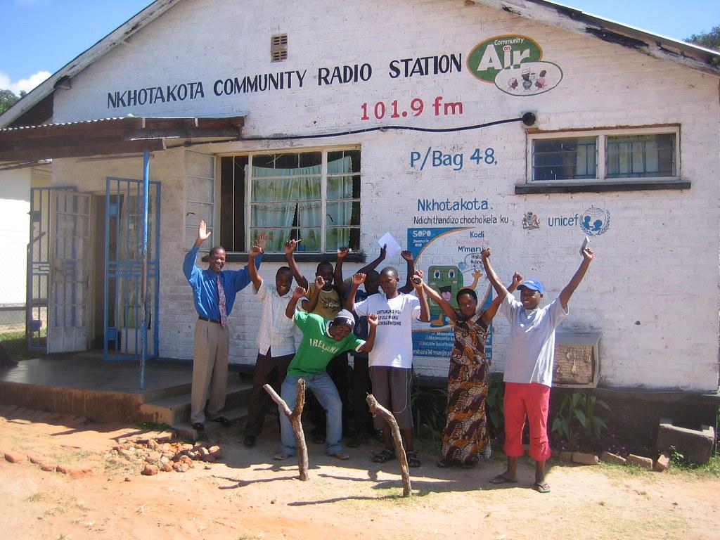 Nkhotakota Community Radio Station in Malawi | Photo ...