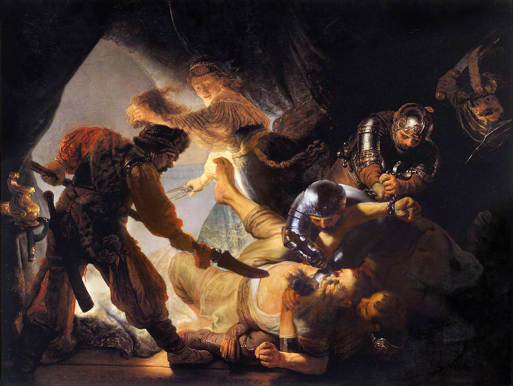 Rembrandt 'The Blinding of Samson' 1636 oil on canvas | Flickr