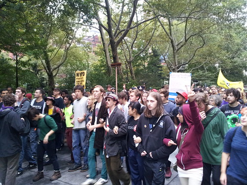 #OWS 3,000 strong to defend wall street | by World Can't Wait