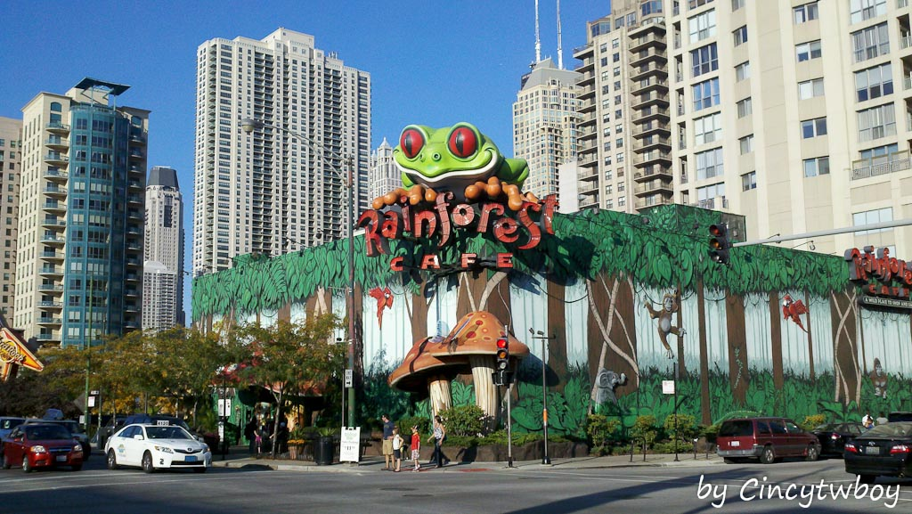 Where Is The Rainforest Cafe In Chicago