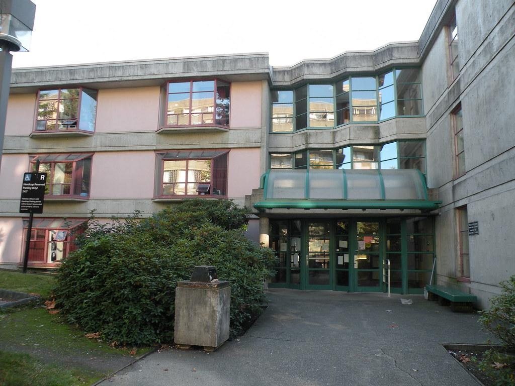 Mctaggart Cowen hall at Simon fraser