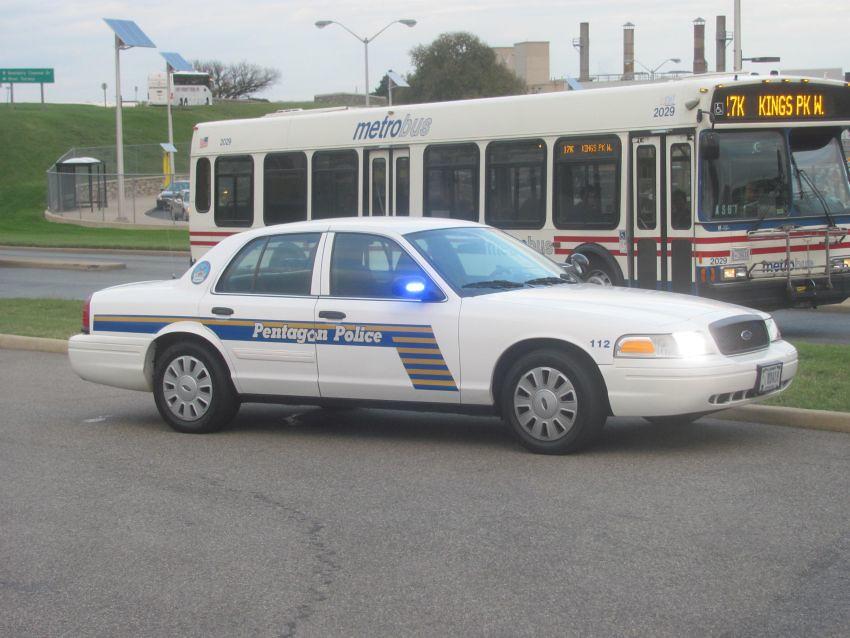 Pentagon Police   Pentagon Police Ford Crown Victoria ...