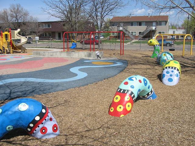 Lafayette Elementary School playground design Playground