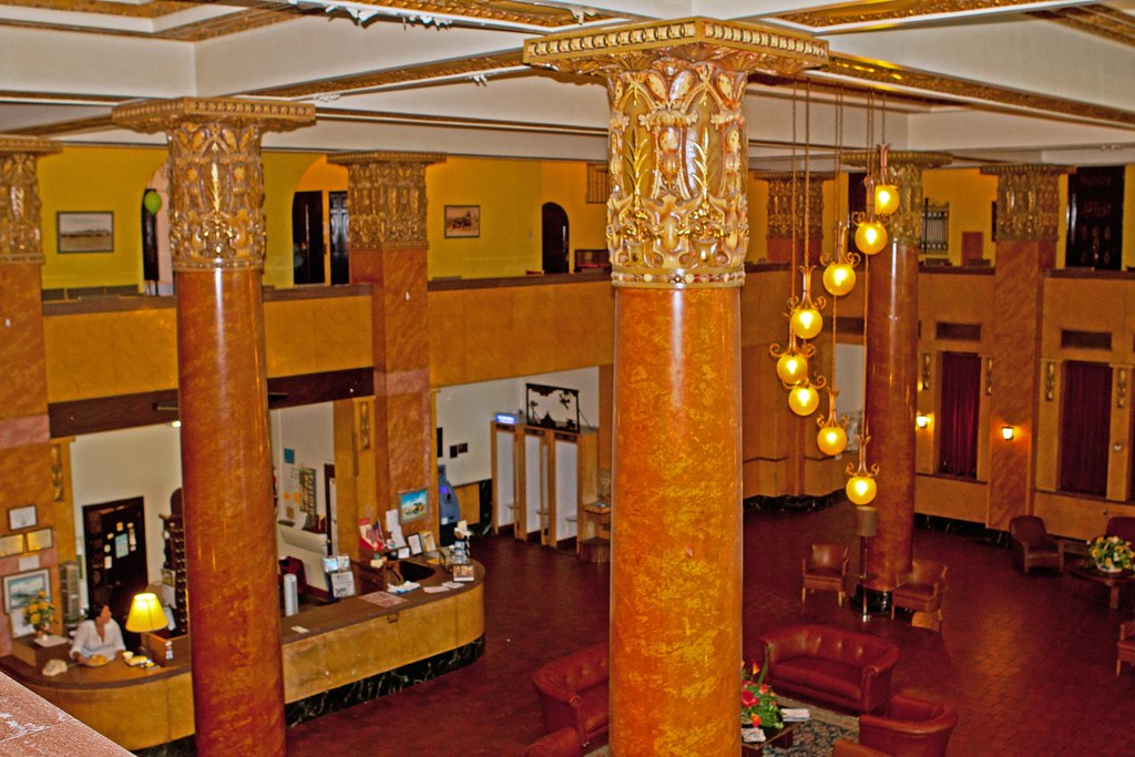 Hotel Gadsden Lobby Douglas Is Home To The Historic
