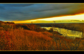 Glorious River Valley Sunset | by LostMyHeadache: Absolutely Free *