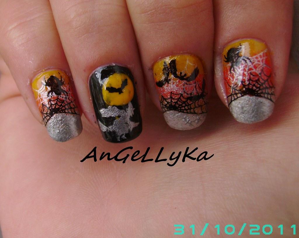 Halloween Bundle Monster Nail Art Melly Nail Polish Y Flickr