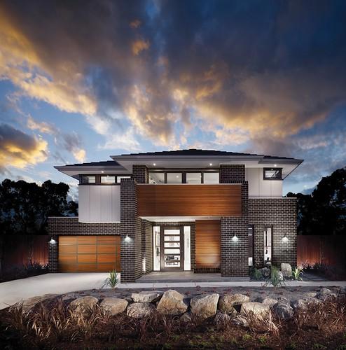 Luxury Brick Homes: Austral Bricks Metallix Brick Range In Luxury Home