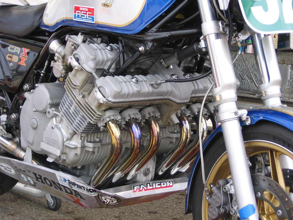 Mid-Ohio Sports Car Course >> Rare Vintage 1000cc 6 Cylinder Honda CBX 6 Motorcycle | Flickr