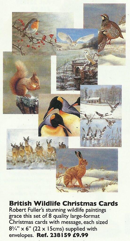 British Wildlife Christmas Cards | Heather Cawte | Flickr