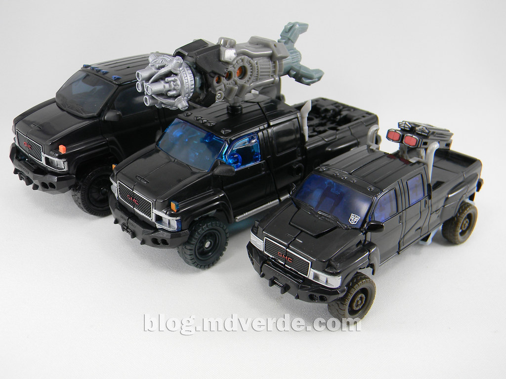 Transformers Ironhide DotM Voyager - modo alterno vs 2007 ...