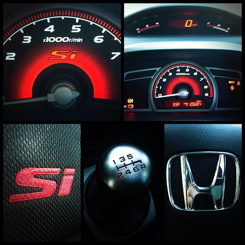 8th Gen Honda Civic Si Interior Brian Defrees Flickr