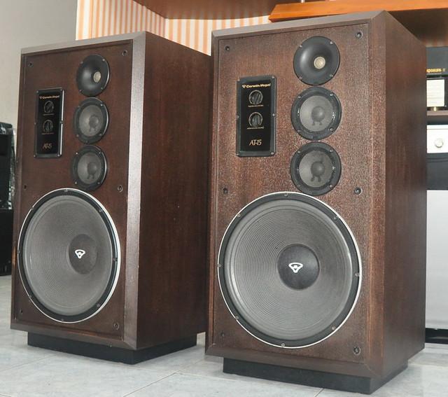 At 15 cerwin vega speakers