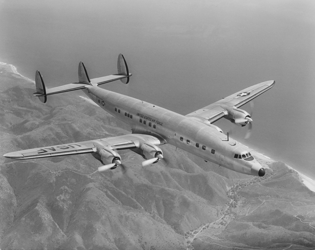 ... Super Constellation Model 1049 | by Lockheed Martin