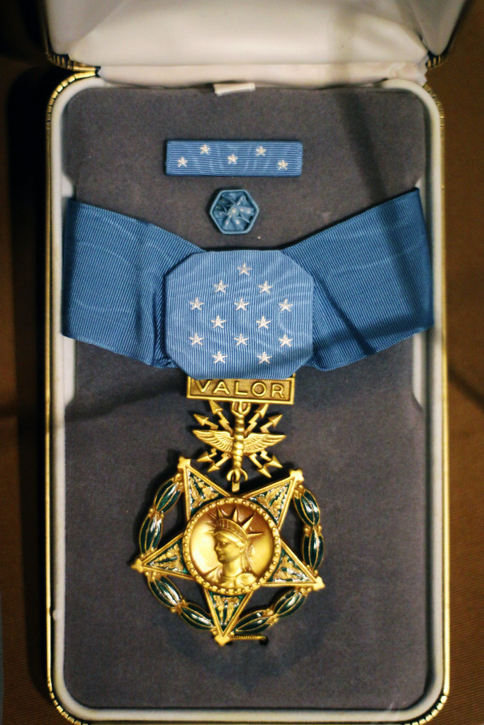Congressional Medal Of Honor While Walking Through The