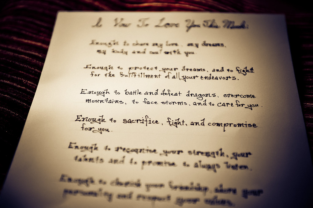 Wedding Vows Wedding Vows Example Www Jabezphotography Com Flickr