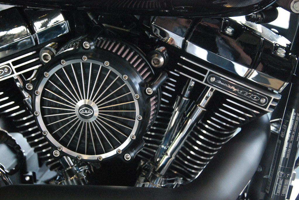 csc big spoke luftfilter auf harley davidson fxs blackline flickr