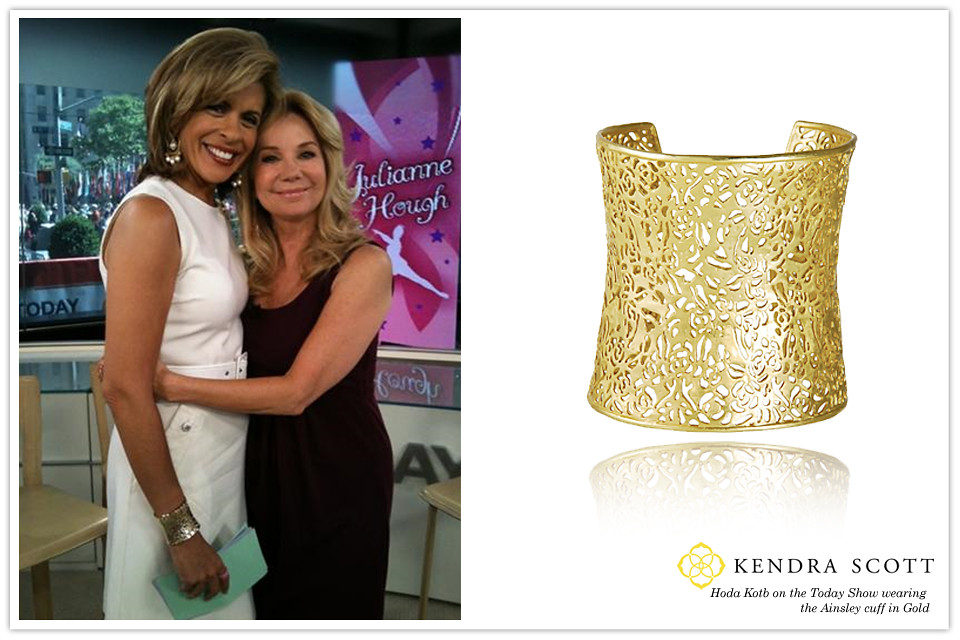 Celebrity Hoda Kotb In Kendra Scott Designer Fashion Jewel