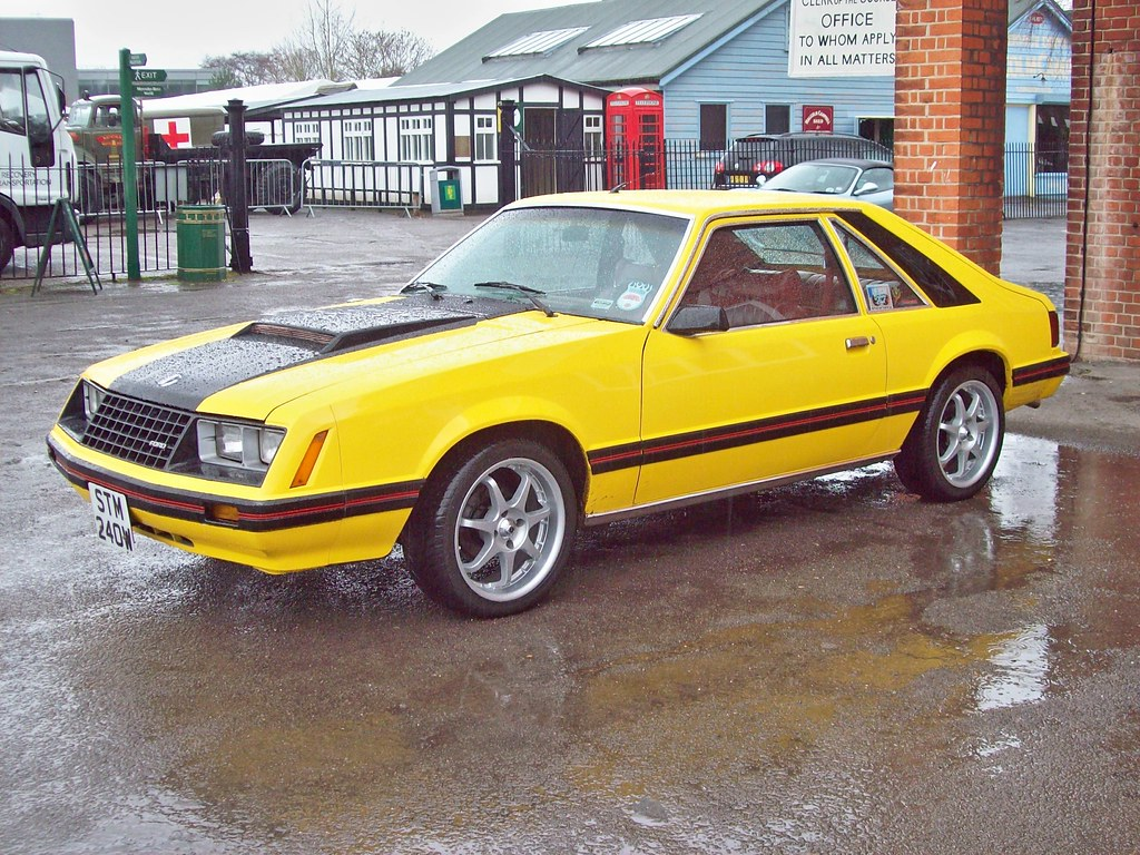 89 ford mustang auto 1979 82 by robertknight16