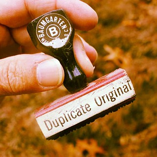 Duplicate Original | by woodleywonderworks