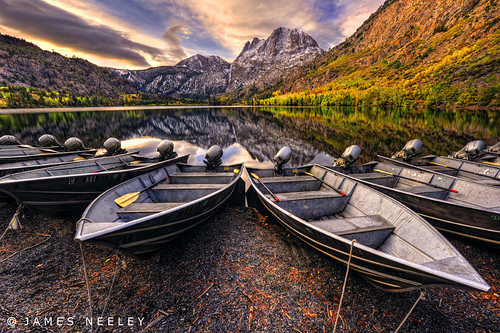 The Boats at Silver Lake | by James Neeley