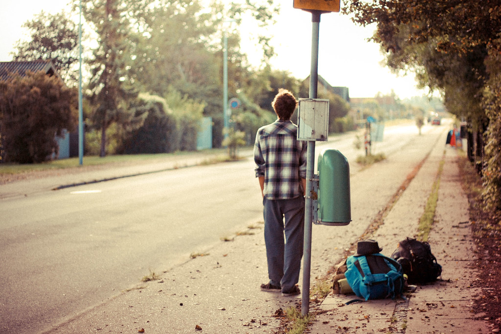 Image result for waiting for the bus