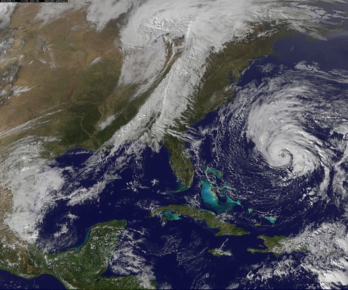 A Strong Fall Cold Front and a Late Season Tropical Storm | by NASA Goddard Photo and Video