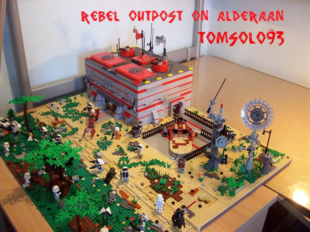 Lego Star Wars Alderaan Lego Star Wars Rebel